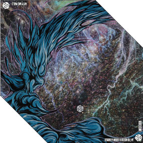 astro bandaril snowboard facemask bandanna by Mike Parillo